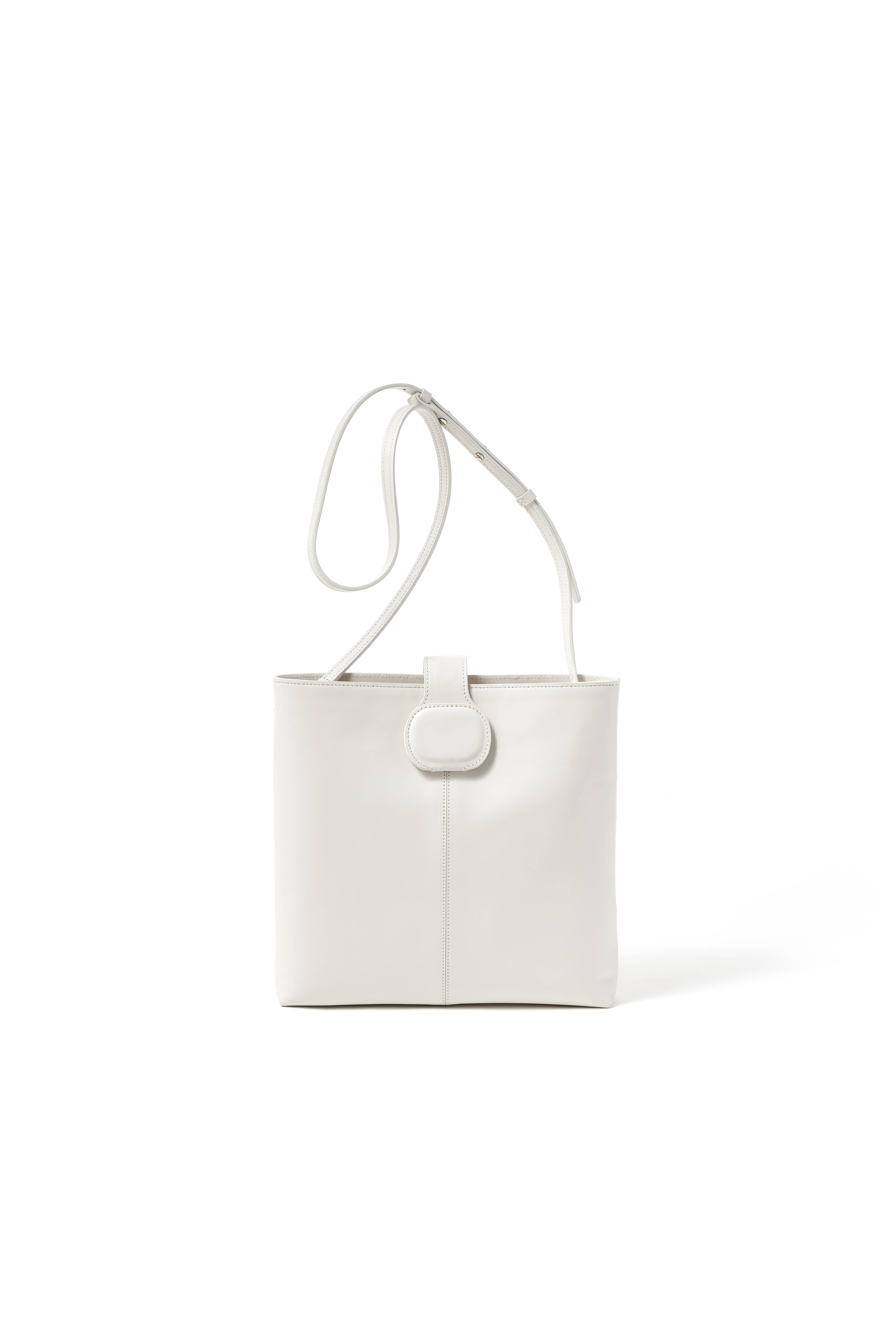 [SS20] EGGSHELL MIRROR CROSS BODY BAG_OFF WHITE